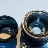 Miranda 50mm PAD lens strip down - front element removed