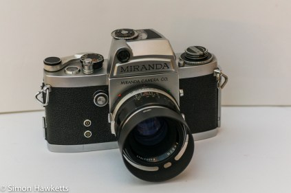 Miranda Fm 35mm slr camera