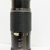 Pentax-M SMC 80-200mm f/4.5 zoom lens set to 80mm