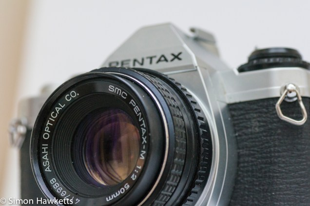 Pentax MG 35mm slr with SMC 50mm f/2