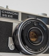 Chinon 35 EE rangefinder camera