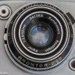 Ilford Sportsman 35mm viewfinder camera showing dacora dignar 45mm f/2.8 lens