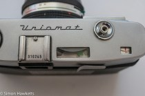 Minolta Uniomat II 35mm rangefinder showing match needle exposure system