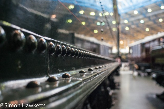 Nation Railway Museum pictures - Rivets on the side of an engine