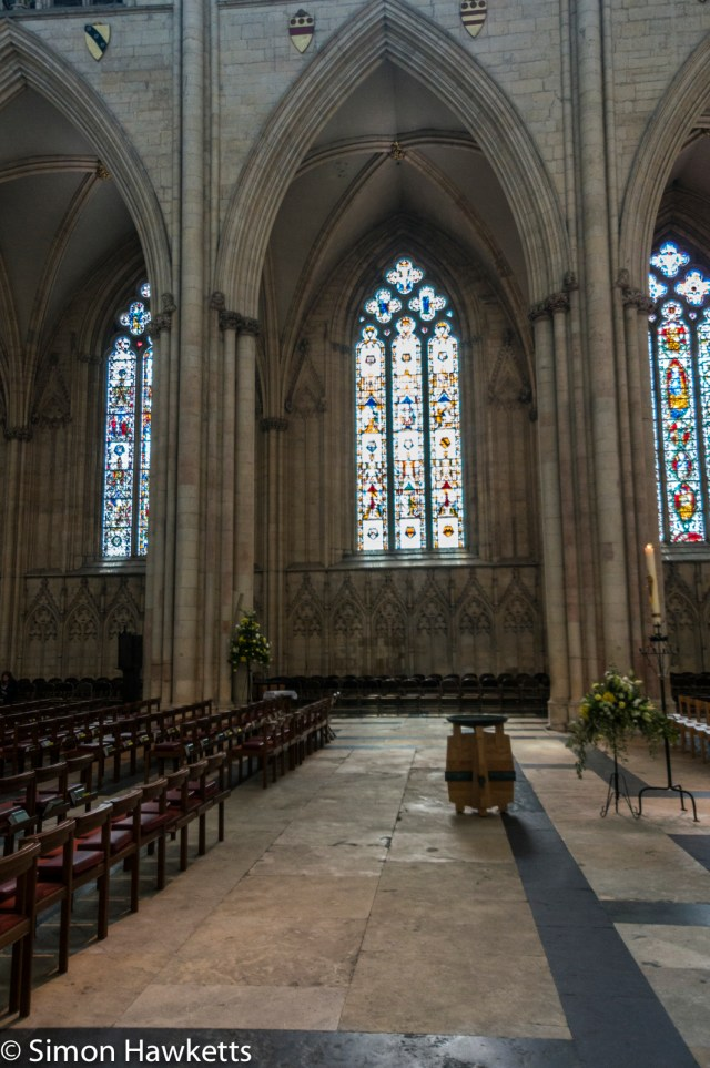 Sony Nex 6 pictures - York Minster interior
