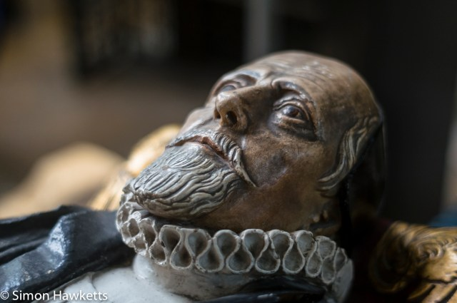 Sony Nex 6 pictures - The stone head in York Minster