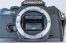 Chinon CE-4 - lens removed
