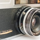 Taron Vr 35mm rangefinder camera showing flash sync and x/m switch