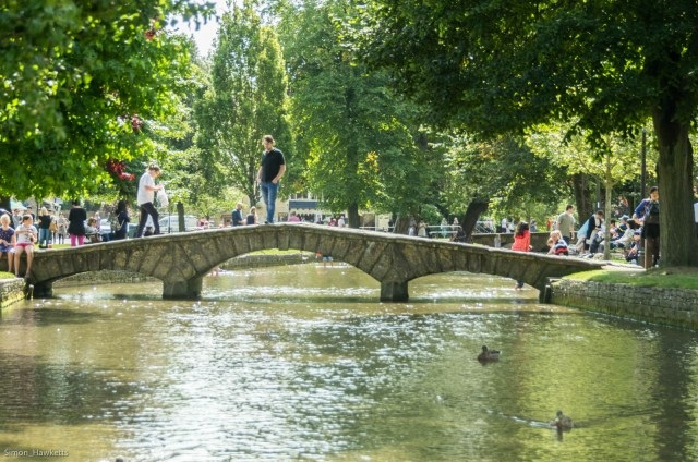 Bridge in bourton-on-the-water