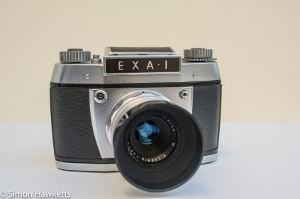 Exakta EXA 1 35mm SLR front view