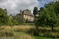 A view of the manor house at showshill manor
