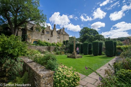 The gardens at Showshill Manor
