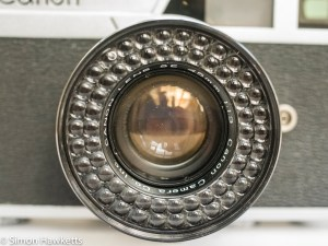 Canon Canonet - light cell round lens