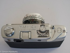 Yashica minister D top view