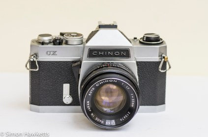 Chinon CX 35mm slr with auto chinon 55mm f/1.7 lens
