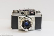 Agfa Ambi Silette 35mm rangefinder camera - cover up