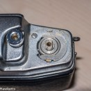 Agfa Ambi Silette 35mm rangefinder top cover removal - Finally remove this screw and this shaped washer