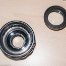 Auto Takumar 55mm f/2.2 strip down - Front optical element group removed