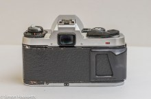 Pentax Super Program 35mm slr - rear view