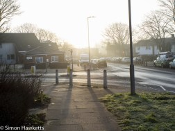 Chinon 28mm f/2.8 M42 lens samples - Looking into the early morning sun