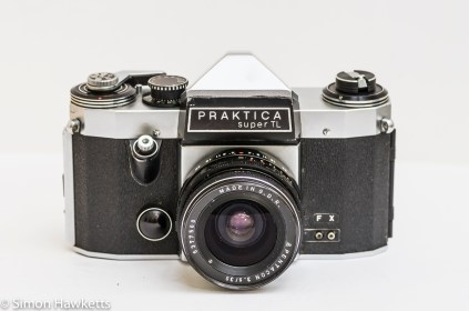 Praktica Super TL 35mm slr