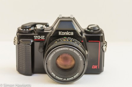 Konica TC-X DX 35mm manual focus camera
