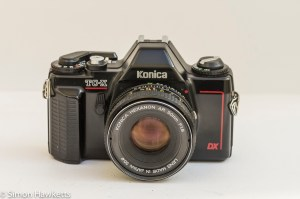Konica TC-X DX manual focus 35mm film camera