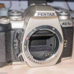 Replacing the mirror return motor in a Pentax MZ-5n