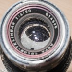 Agfa Color-Telinear 90mm f/4.0 aperture repair