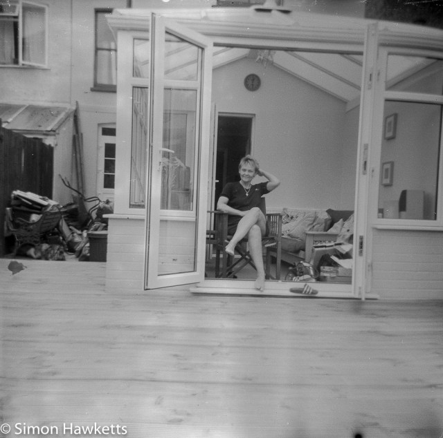 Kodak Brownie Reflex samples - Another original picture found on film