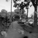 Kodak Brownie Reflex samples - Contemporary picture taken on outdated film of the street in Stevenage
