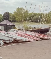 Olympus OM-2 sample pictures - Sailing boats waiting to be used