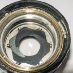 Petri 55mm f/2.0 CC lens aperture repair