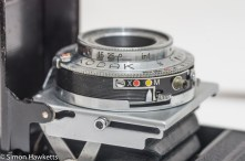 Kodak Retinette Type 017 35mm folding camera - lens and self timer, flash sync and lens release
