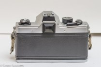 Praktica MTL 5B 35mm slr camera - rear view with film chamber closed