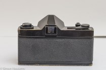 Ricoh Singlex TLS 35mm single lens reflex camera rear view