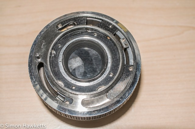 Carl Zeiss Werra Mat reassembly after strip down and refurbishment - part 3 3