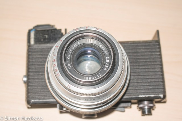Carl Zeiss Werra Mat reassembly after strip down and refurbishment - part 3 4