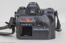 Fuji finepix S2 Pro DSLR - illuminated data display