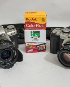 Holiday camera choices for digital and film 5