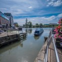 Lincoln city pictures with fuji x-t1 - Narrowboat