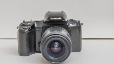 Pentax Z-10 35mm autofocus slr camera front view