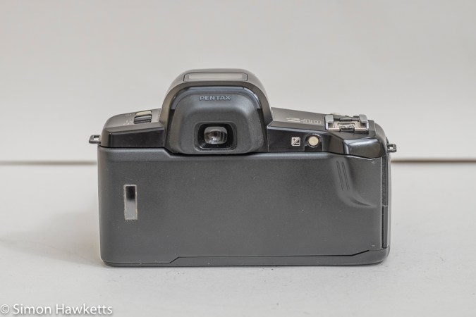 Pentax Z-10 35mm autofocus slr camera rear view