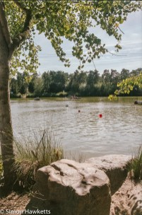 Elveden Forest Centerparcs on film - across the boating lake