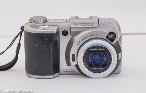 Fuji MX-2900 compact camera - front view of camera