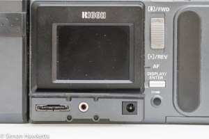 Ricoh RDC-4200 data connection on back panel
