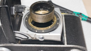 Kodak retina IIc - focus helicoid removed