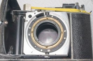 Cleaning the focus mechanism on a Kodak Retina IIc rangefinder 1