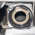Removing the shutter from a Retina IIc 35mm rangefinder