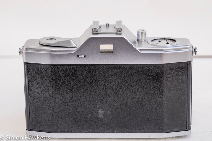 Pentona II viewfinder camera rear view